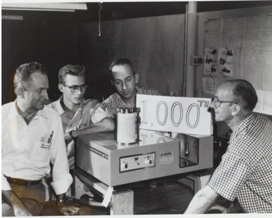 Model 137 IR spektrofotometer proizvajalca PerkinElmer, 1960 -1969.